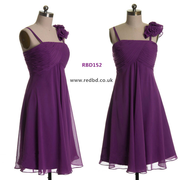 RedBD maternity bridesmaid dress