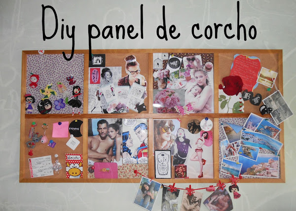 Corcho de pared diy aprender manualidades es - Panel de corcho para pared ...