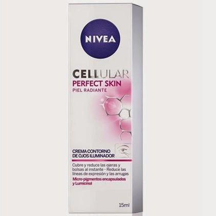 Nivea Cellular Perfect Skin contorno de ojos iluminador