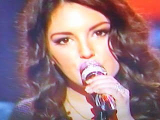 American Idol contestant Kree performs a Beatles song