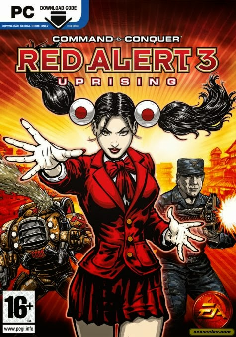 Command And Conquer Red Alert 3 Uprising PC ESPAÑOL