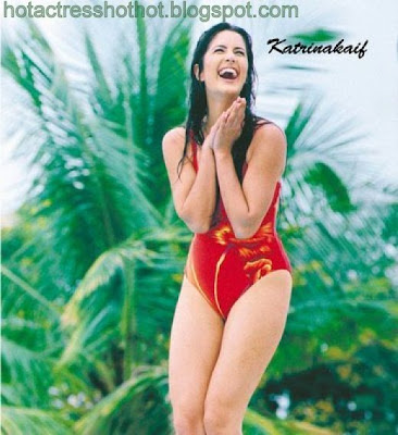 katrina kaif hot pics in two piece red hot bikini