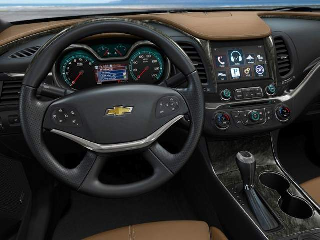 Chevrolet Impala 2013 new interior
