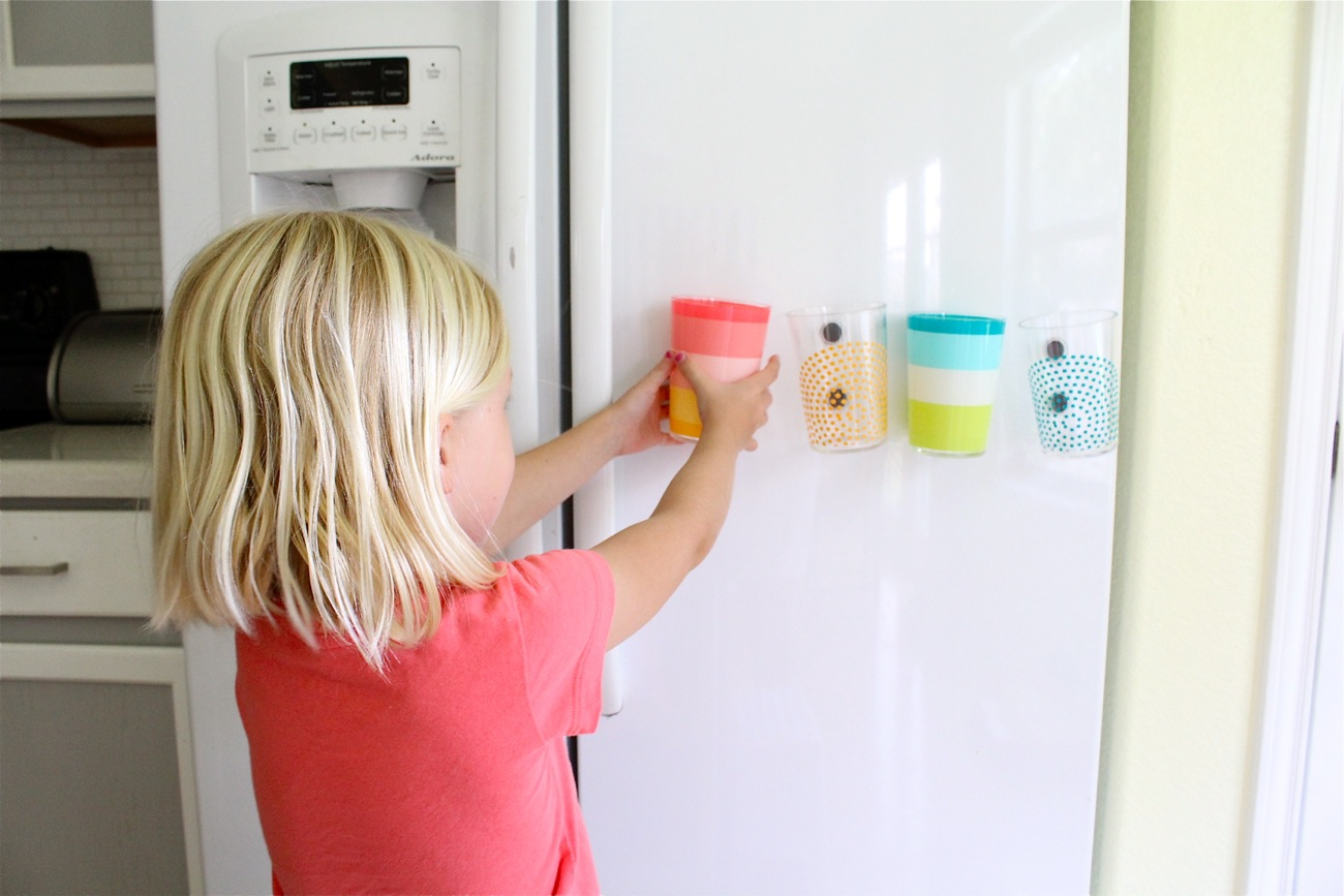 Image result for kid playing on fridge