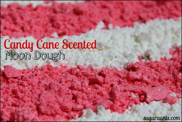 Candy Cane Moon Dough By Sugar Aunts
