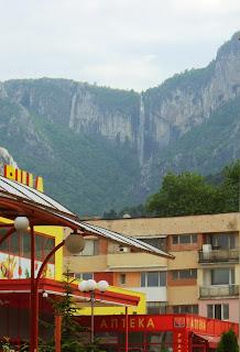 Vodopad Skaklia - grad Vraca