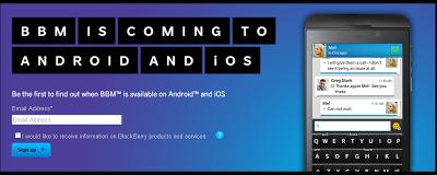 BBM pronto disponible para iOS y Android