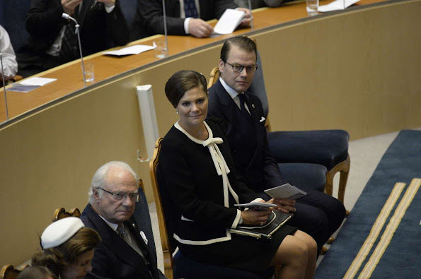 Crown Princess Victoria of Sweden and Prince Daniel, Prince Carl Philip and Princess Sofia Hellqvist of Sweden, Princess Madeleine of Sweden