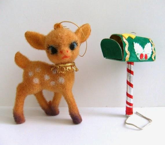reindeer christmas kitsch