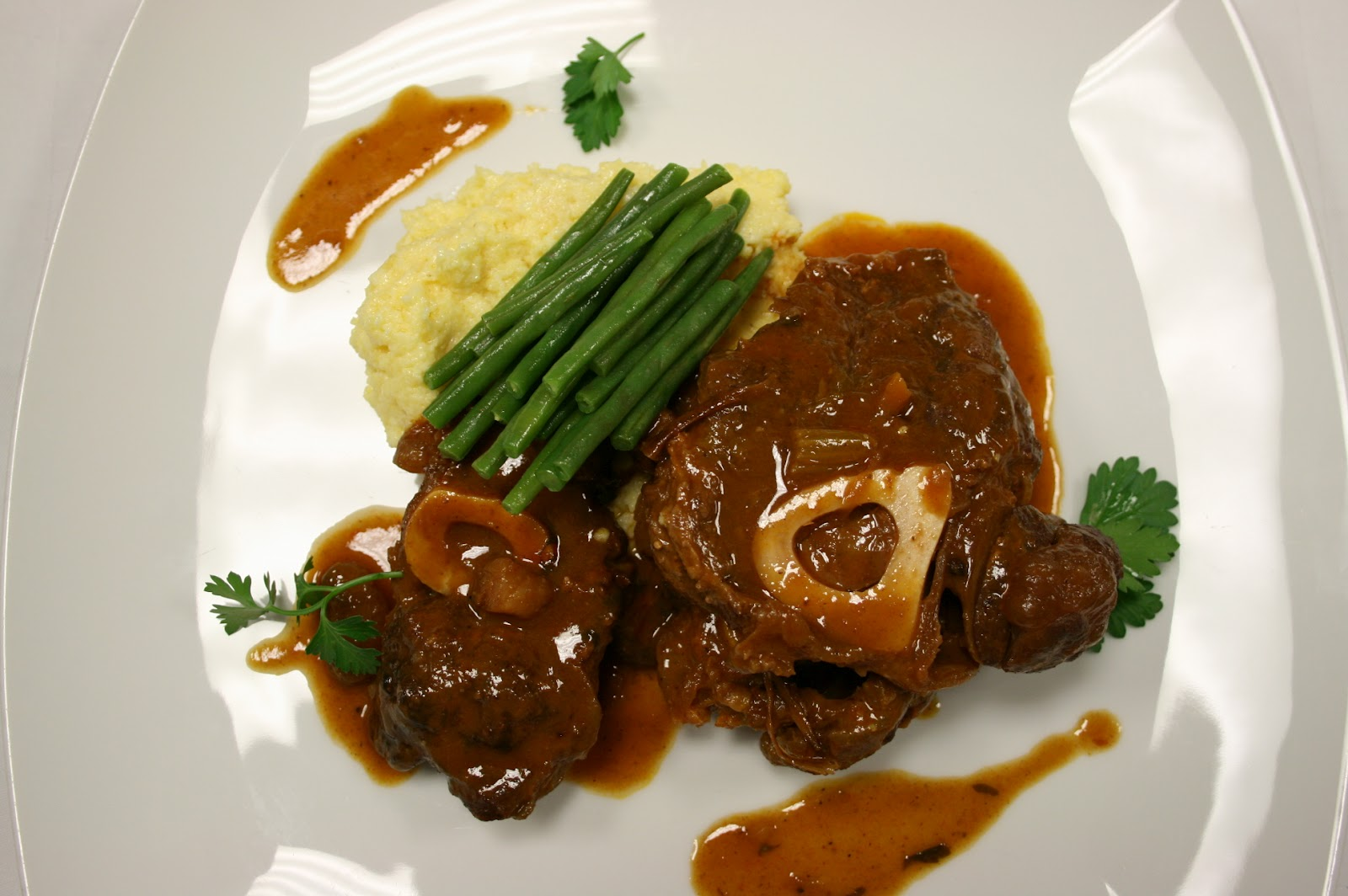 Country Gourmet Traveler: Osso Buco Ticinese