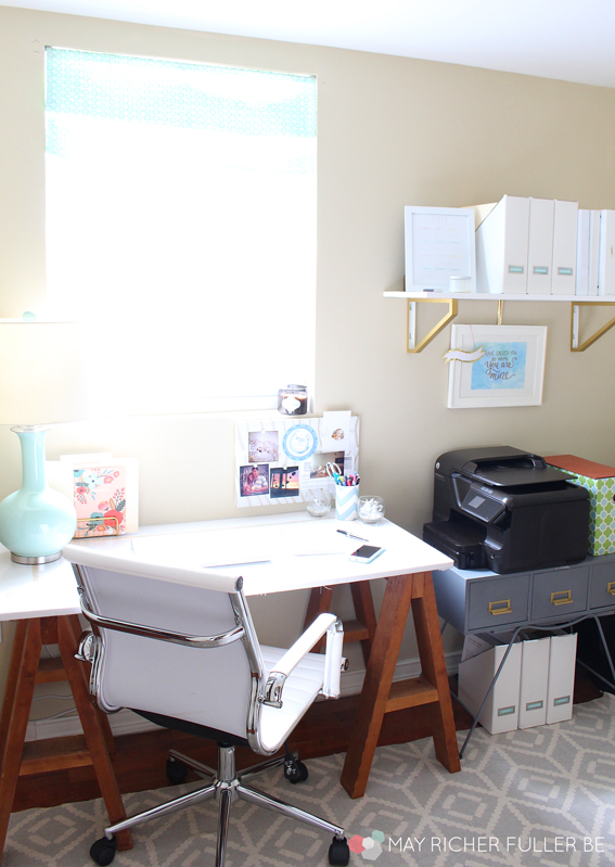 Bit By Bit, My Office Is Becoming One Of My Favorite Places In The House.  It Better Be, Since I Spend All My Time There During The Weekdays, Ha!