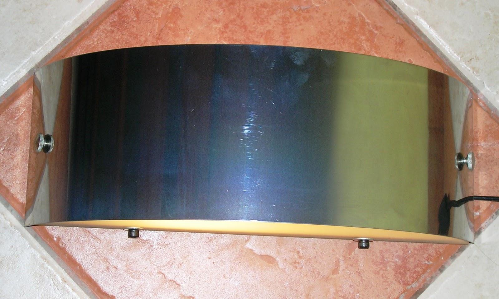 Argento iluminacion decorativa bidireccional vidrio acero - Iluminacion decorativa interiores ...