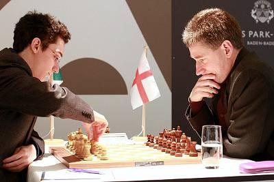 Echecs : Fabiano Caruana (2757) 0-1 Michael Adams (2725) au Grenke Chess Classic Baden-Baden 2013