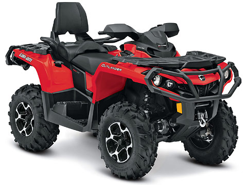 2013 Can-Am Outlander MAX XT 800R ATV pictures. 480x360 pixels