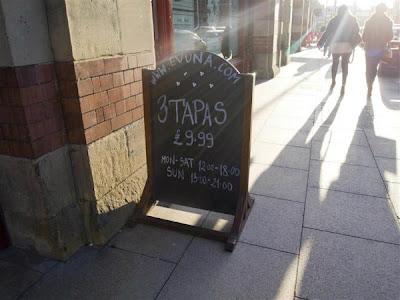 Tapas Bar en Manchester