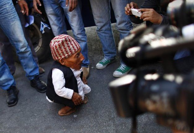 world shortest man