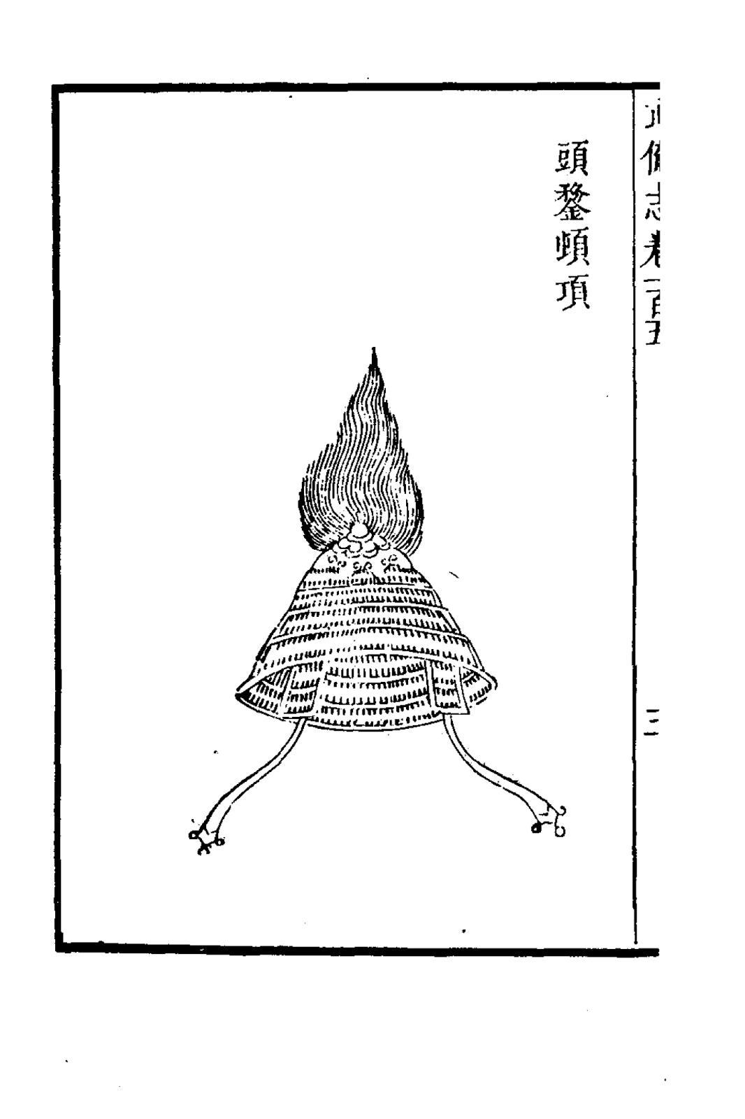 Ancient Chinese Helmet