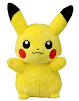 Pikachu Live Size Plush Tomy