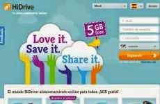 HiDrive: otro servicio de almacenamiento online que ofrece 5 Gb. gratis