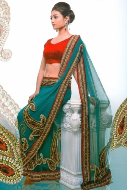 Saree Indian Designs 2012