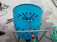 Φτιάχνω - Πώς να: Ξεπουπουλιάστρα ή Αποπτιλωτήρας πουλερικών ή Plucker machine για τους αγγλομαθείς