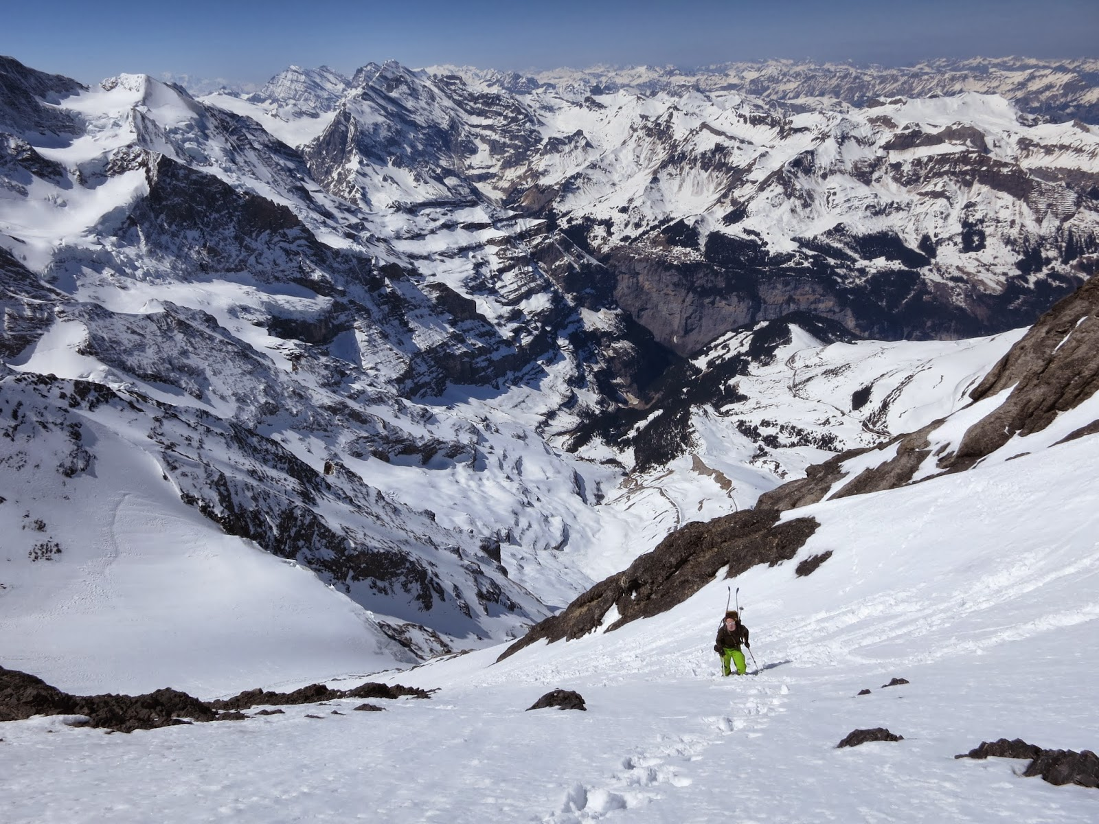 Climbing the West face of the Eiger & Scottish Climbers: Un-pisted Alpine: 3 Days of Steep Skiing