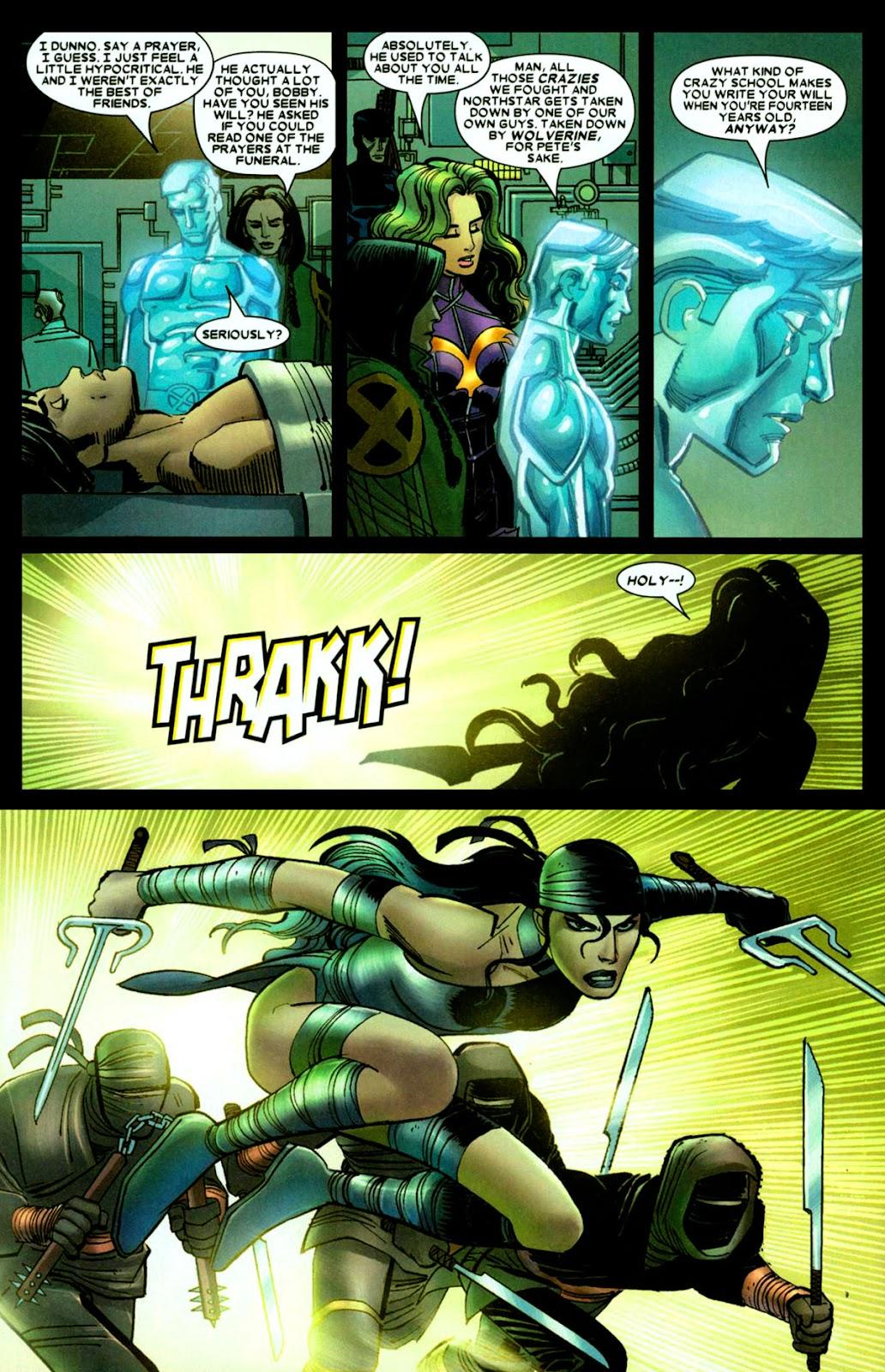 Read online Wolverine (2003) comic -  Issue #26 - 13
