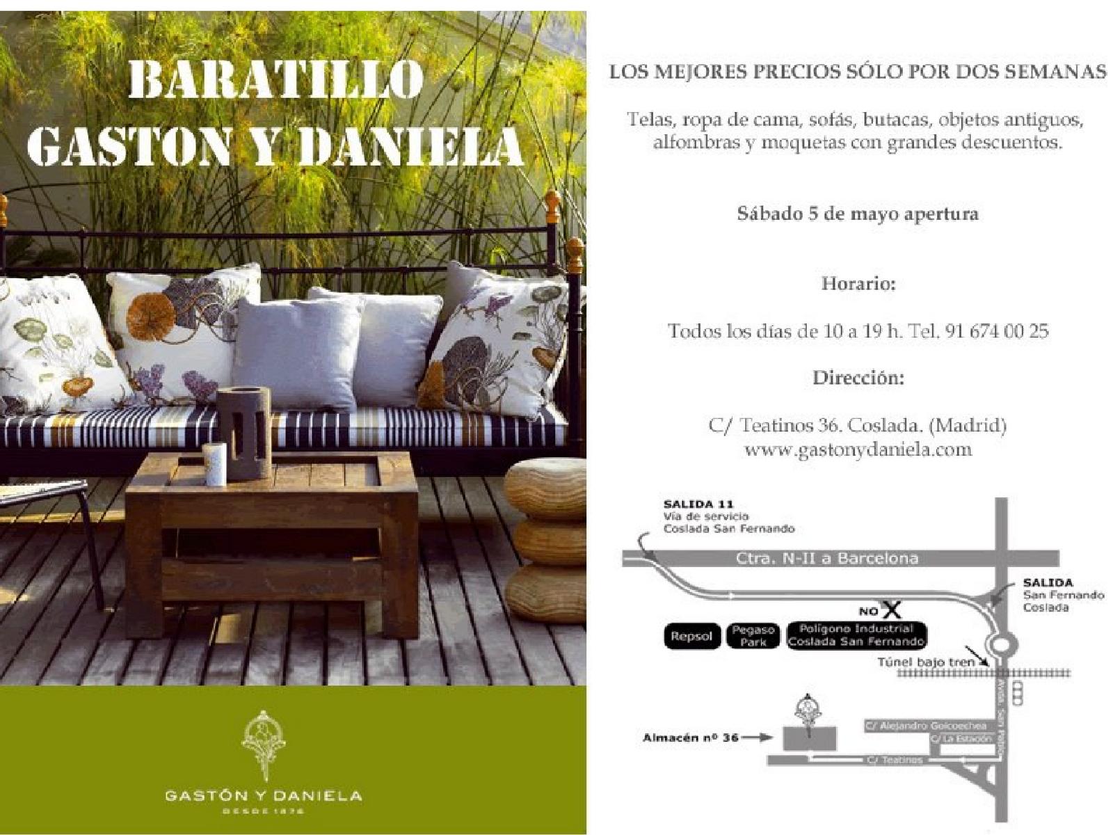 Baratillo gast n y daniela 2012 divinopresente - Gaston y daniela coslada ...