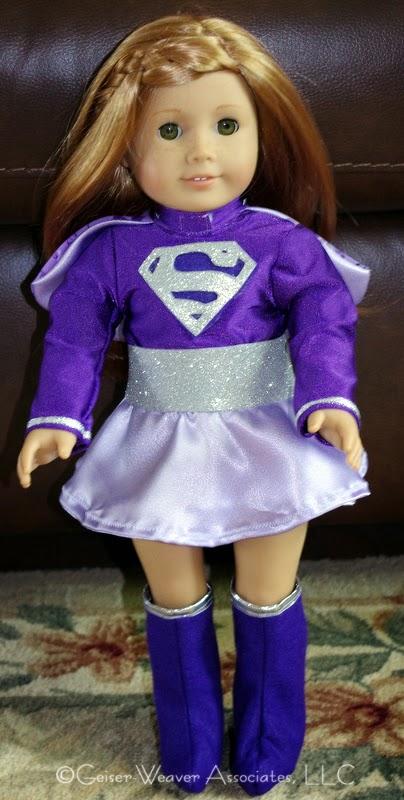Purple Supergirl by Geiser-Weaver Associates, LLC