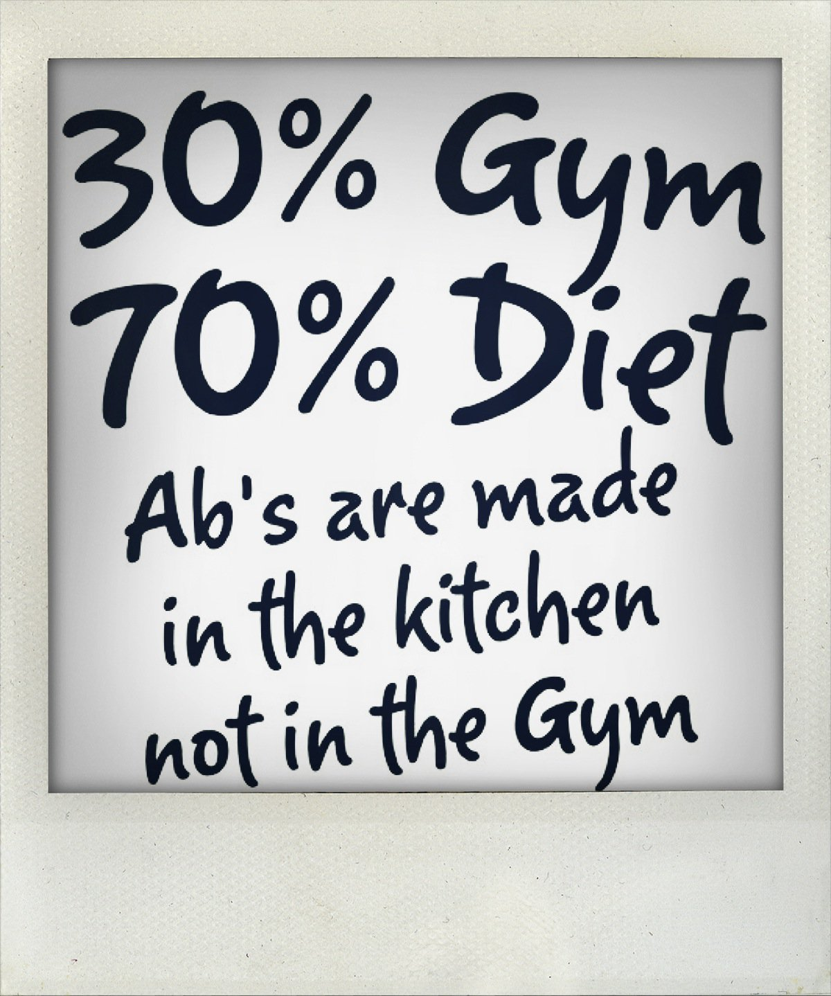 Quotes about exercise and diet quotesgram for Fitted kitchen quotes