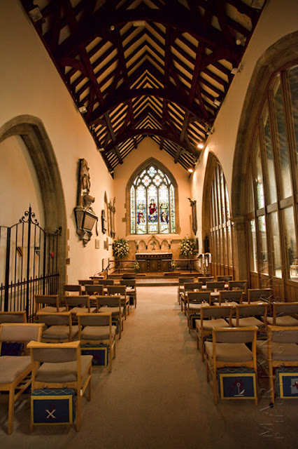 Charlbury church interior by Martyn Ferry Photography