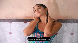 Ileana in Bathroom
