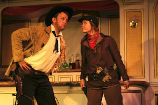 Alan Wales aka Wild Bill and Hannah Duncan aka Calamity Jane