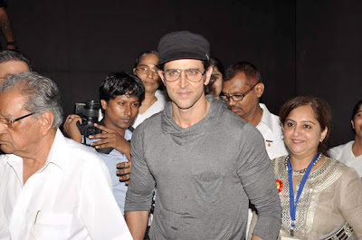 Hrithik Roshan at the launch of 'I Pledge 4 peace' project