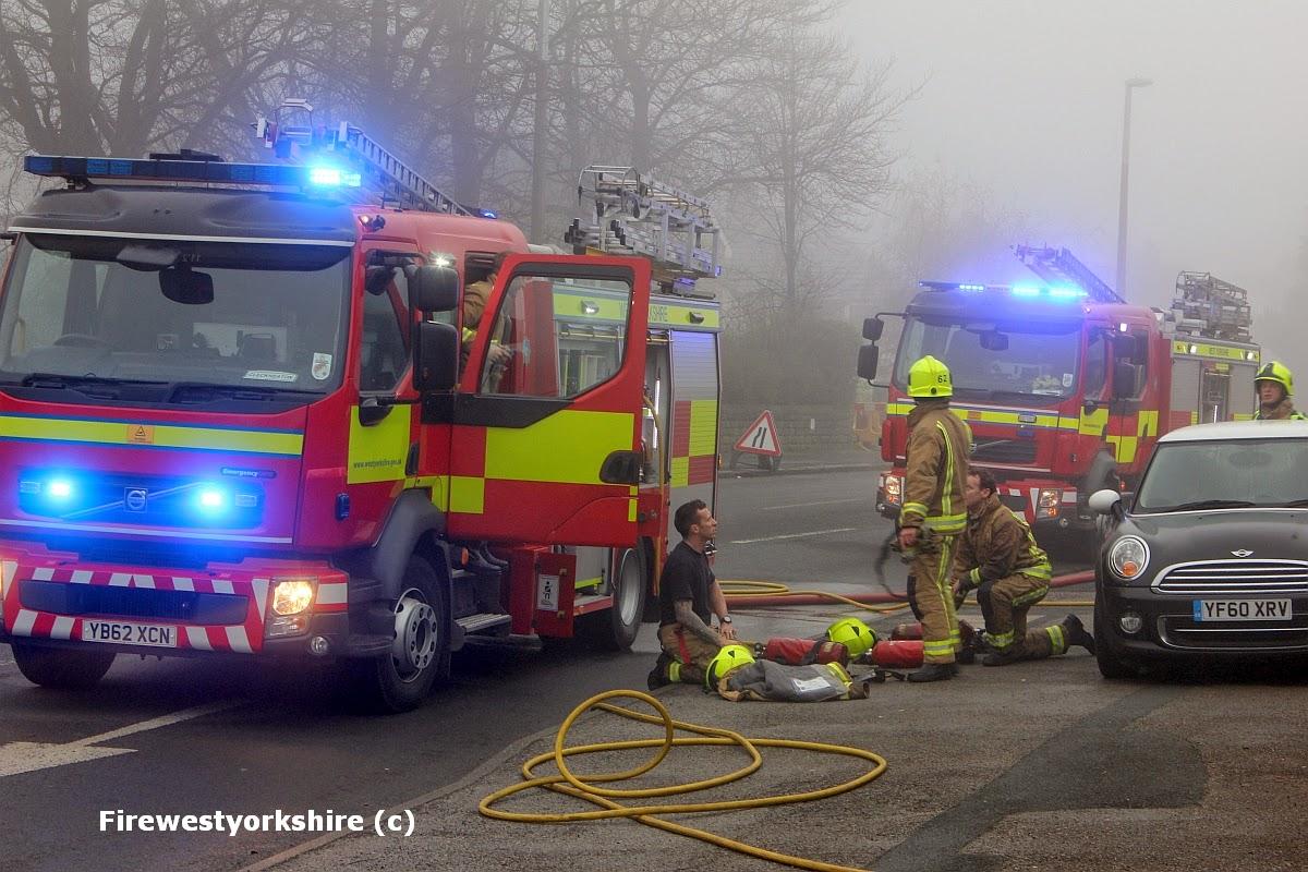 Bradford Road, Birkenshaw, House fire