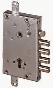 κλειδαριά ασφαλείας θωρακισμένης πόρτας CISA