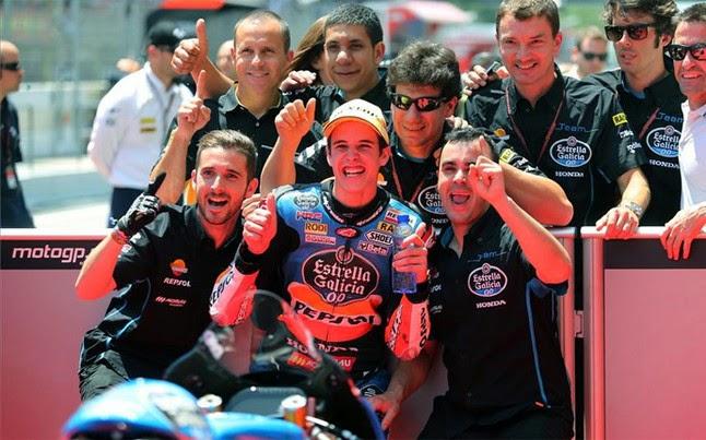 El hermano de Márquez gana su primera carrera