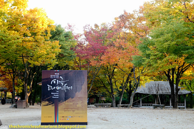 Korean Folk Village autumn seoul