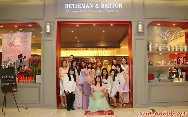 Perfume Tea Party, Betjeman & Barton Malaysia, 1 Utama, Bisou BonBon, DIY Own Perfume, French Tea Party, French Tea