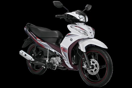 Sepeda Motor Bebek Injeksi Kencang dan Irit Jupiter Z1 warna putih