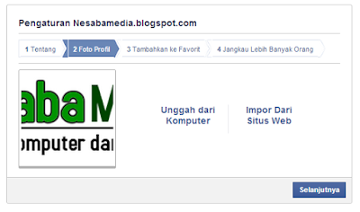 cara membuat halaman di facebook