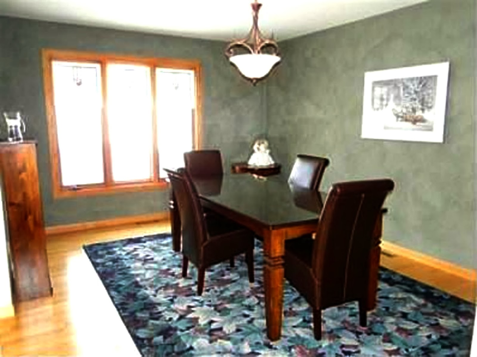 Formal dining room into