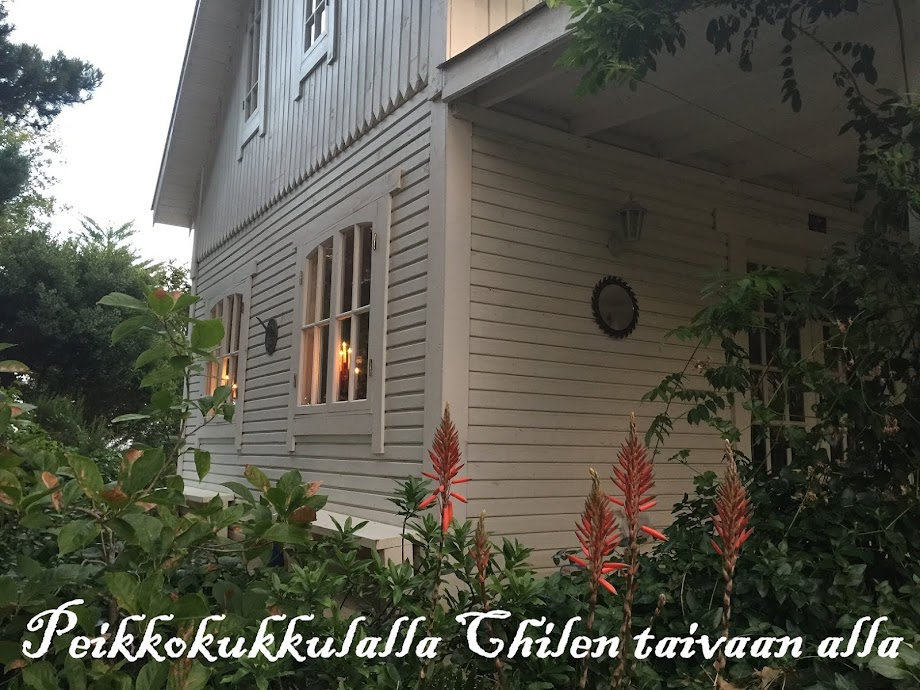 Peikkokukkulalla Chilen taivaan alla