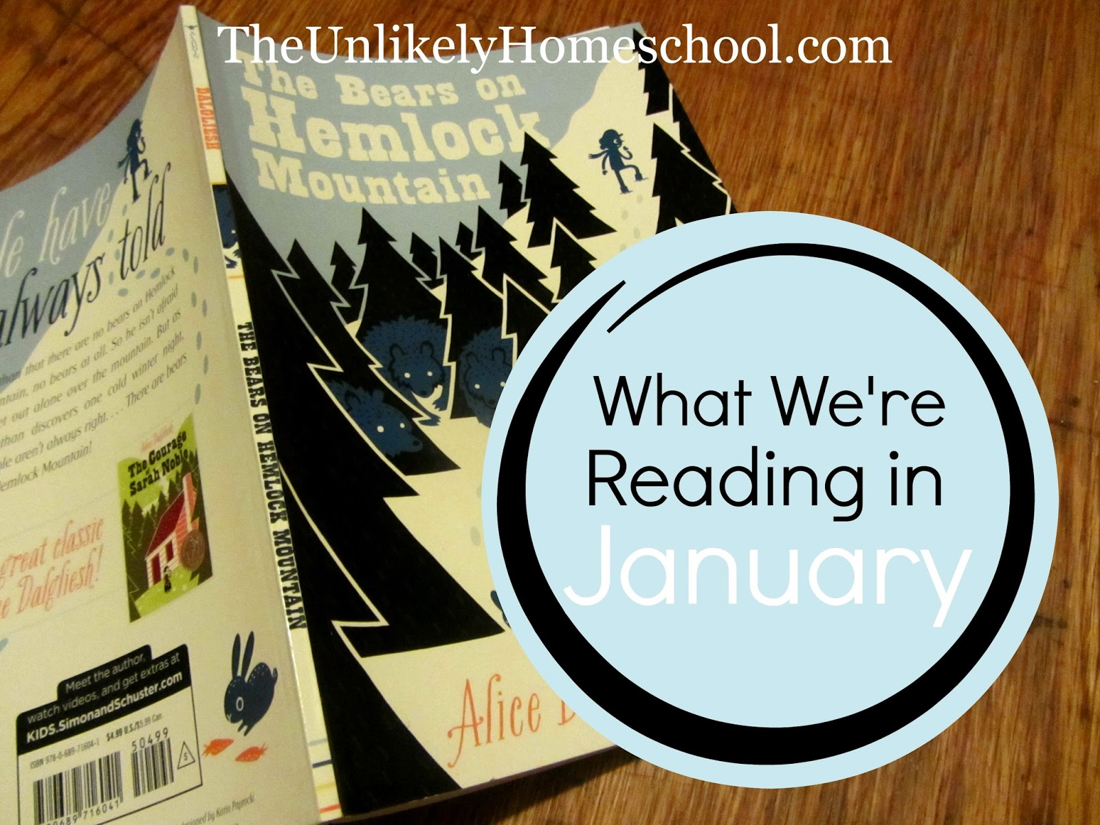 What We're Reading in January {The Unlikely Homeschool}