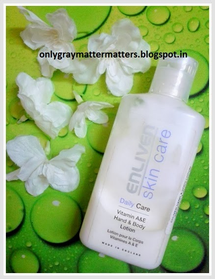 Enliven Skin Care Vitamin A & E Hand and Body Lotion Review