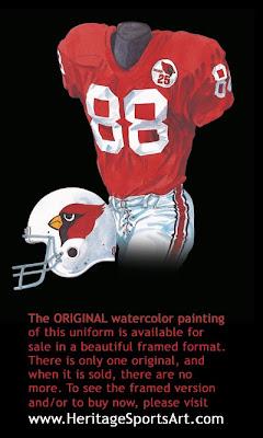 1984 St. Louis Cardinals uniform