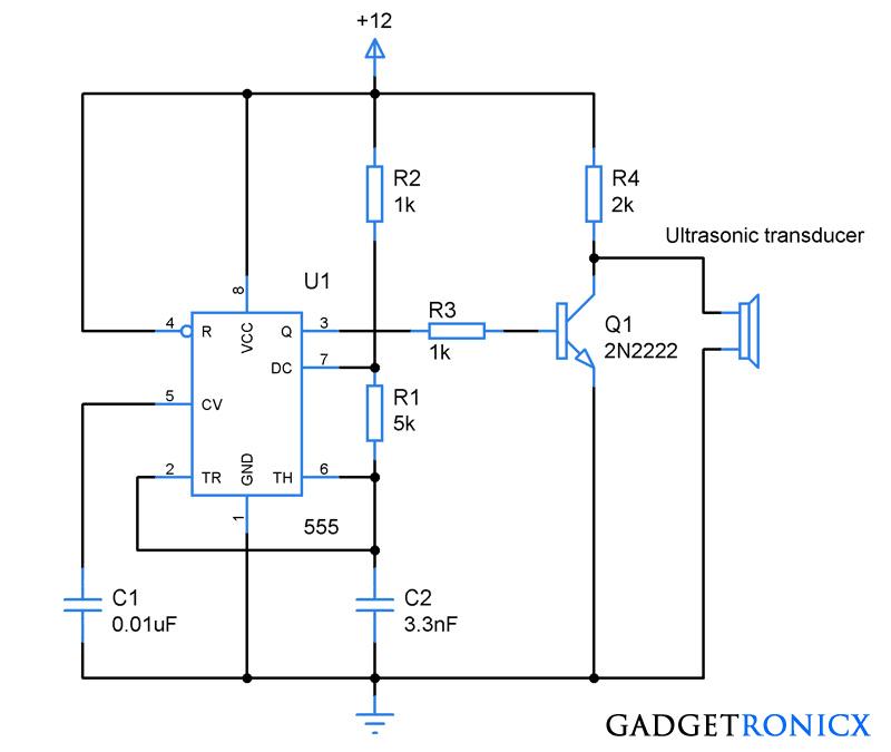 ultrasonic-transmitter-electronic-circuit-design-555