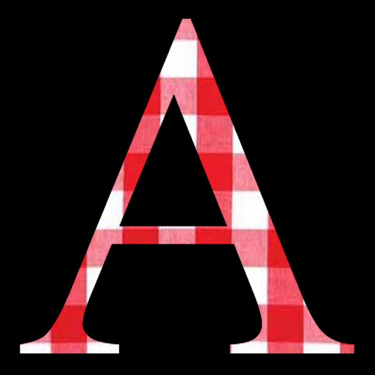 granny enchanted 39 s blog free red gingham digi scrapbook alphabet. Black Bedroom Furniture Sets. Home Design Ideas