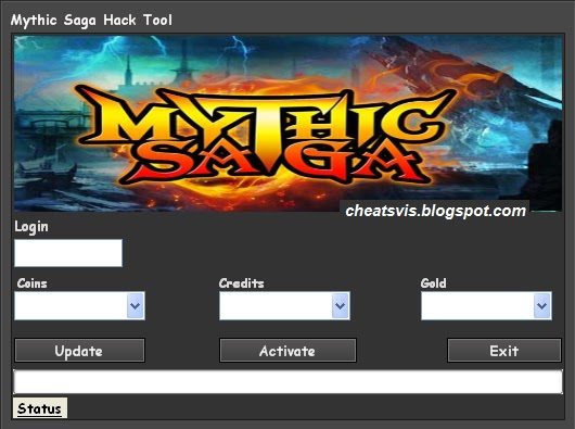 Mythic Saga Hack Tool Coins Credit Gold