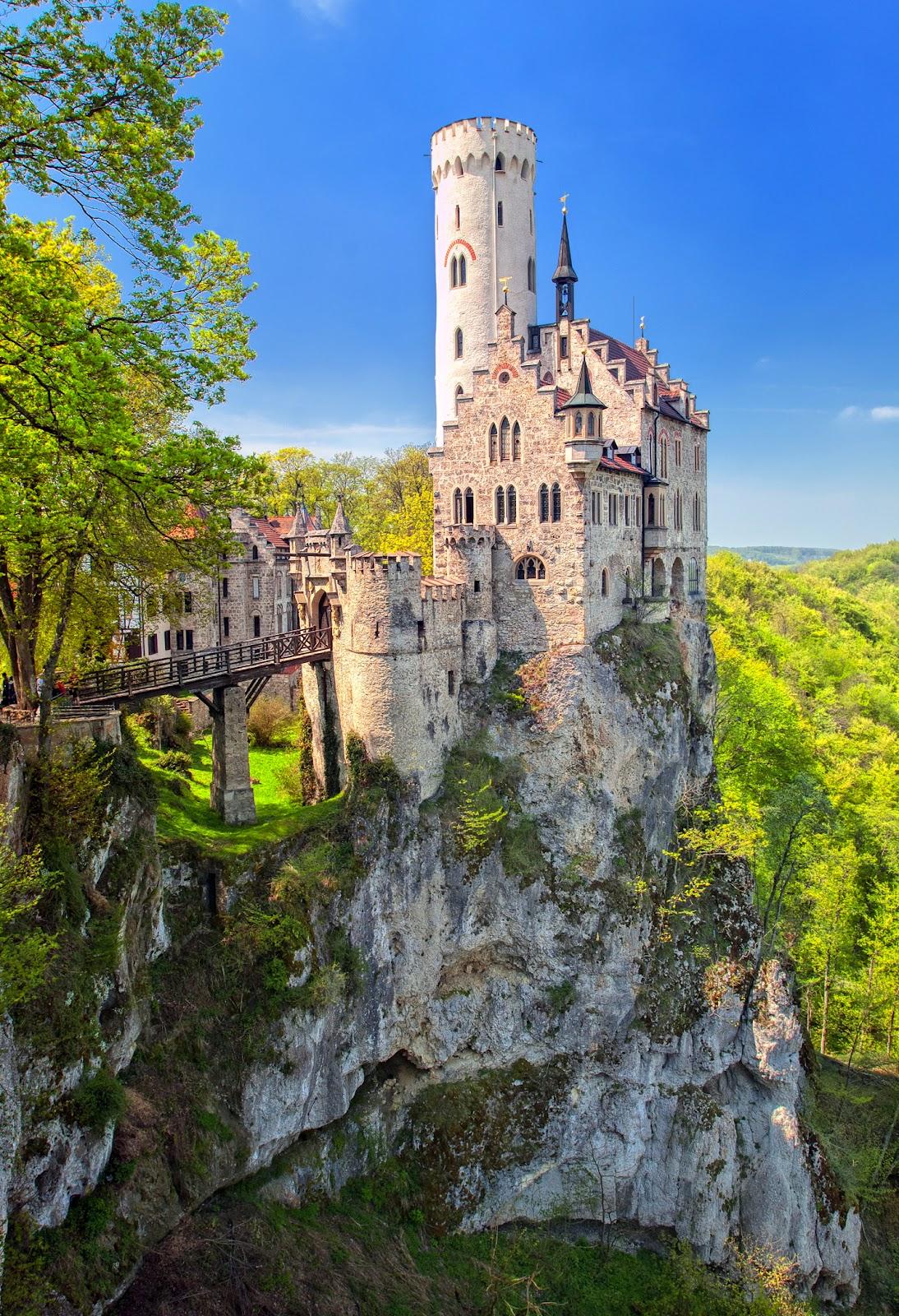 Обои замок нойшванштайн 4